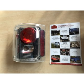 1973-87 Chevy Chevrolet C10 C20 Pick Up Rückleuchten Tail light Klarglas